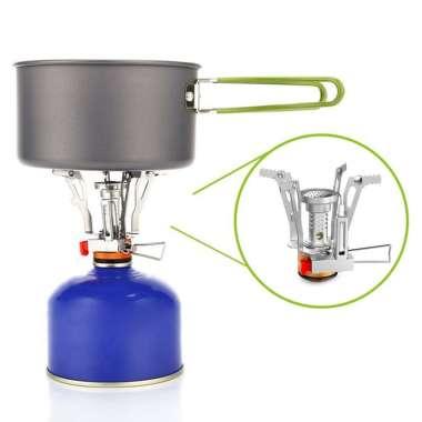 harga Foldable Outdoor Camping Stove Mini Picnic Camping Gas Burner Cooking Tool Orange Orange Blibli.com