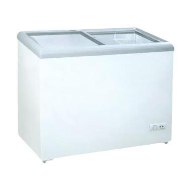 GEA SD-186 Sliding Flat Glass Freezer [186 Liter]