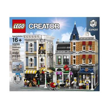 LEGO Creator 10255 Assembly Square Mainan Blocks & Stacking Toys