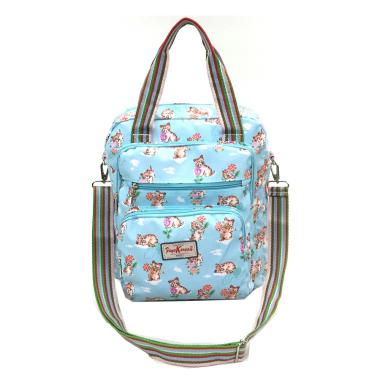 Faye Korean Style 3 in 1 1708 Import Tas Wanita - Blue