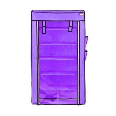 Nine Box Rak Sepatu - Lavender Purple[6 Tingkat]