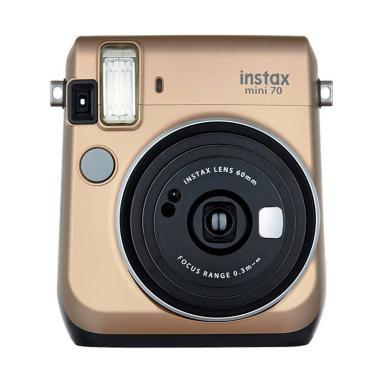 Fujifilm Instax Mini 70 Kamera Polaroid - Gold