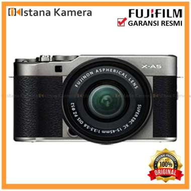 harga Fujifilm X-A5 Kit 15-45mm Kamera Mirrorless Dark Silver Blibli.com