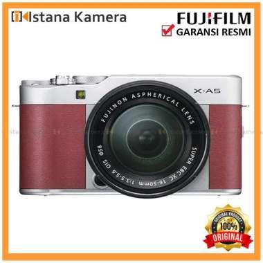 harga Fujifilm X-A5 Kit 15-45mm Kamera Mirrorless Pink Blibli.com