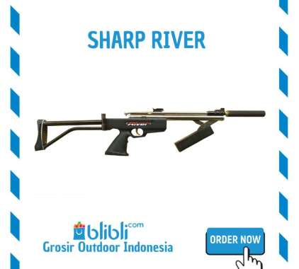 Senapan Angin Sharp river mini lipat