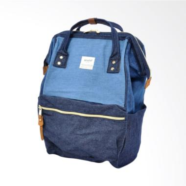 Anello Oxford Backpack Cotton Denim Multi