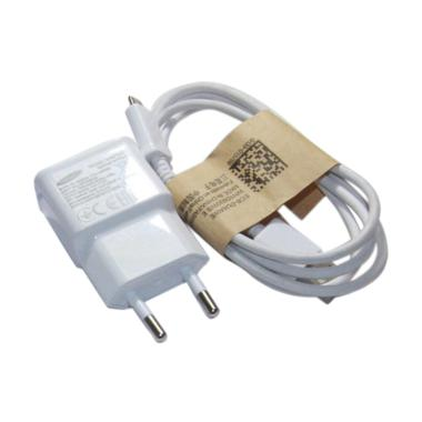 Samsung Travel Adapter Charger For Galaxy Note 1 2 S4 A Putih