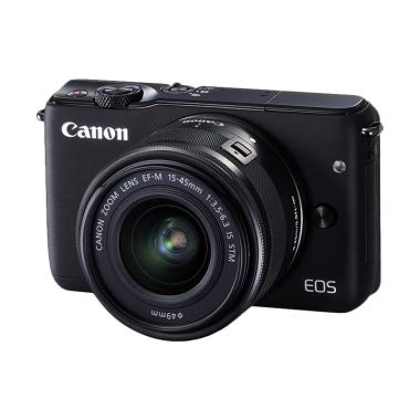 Canon EOS M10 Kit 15-45mm Mirrorless - FREE Memory 16GB + Screenguard