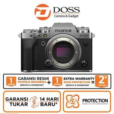 DOSS Fujifilm X-T4 Body Only / Fujifilm XT4 Body Only SILVER