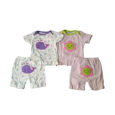 Carter's Piyama Girls Setelan Piyama Anak A [Size 9/2 Pcs]