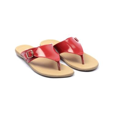 Dr.Kevin 27342 Women Sandals Wanita - Red