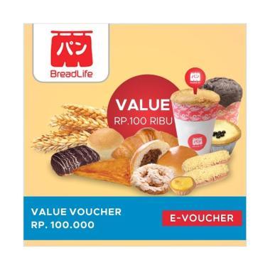 BreadLife E-Voucher [Rp 100.000]