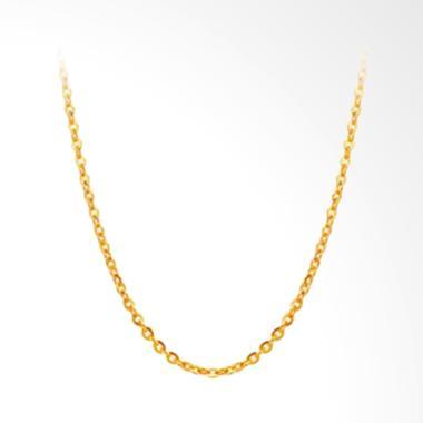 Tiaria Perhiasan Kalung Emas 24 Karat 99.% Emas Asli 2.1 Gram