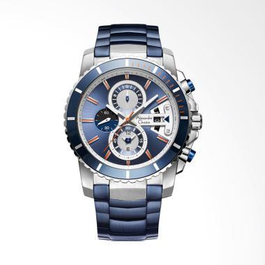 Alexandre Christie Blue Ice Chronog ... e Silver ACF-6455-MCBTUBU