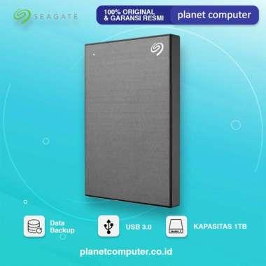 HARDISK EXTERNAL SEAGATE BACKUP PLUS SLIM 1TB USB 3.0 Silver