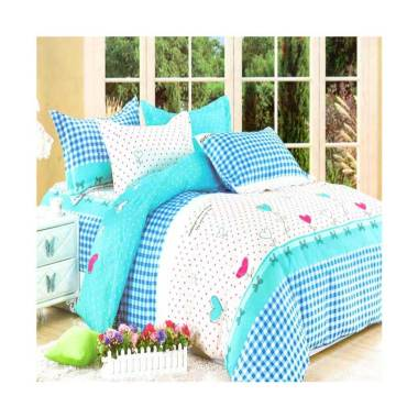 Rosewell A099 Microtex Set Sprei dan Bed Cover