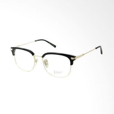 VTech Frame Kacamata Kotak Pria - Black Gold 160701 10e4c5dd8e