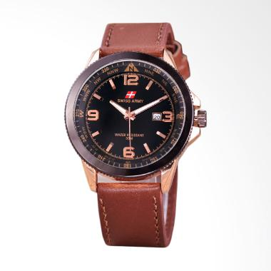 Jam Tangan Swiss Army Tali Kulit Terbaru di Kategori Fashion Pria ... f2f3e3efc0