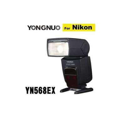 (YONGNUN)YN568EX-NIKON-top with flash