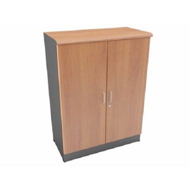 UNO UST 4352 B Pendek Pintu Kayu Lemari Arsip [2 Ruang]