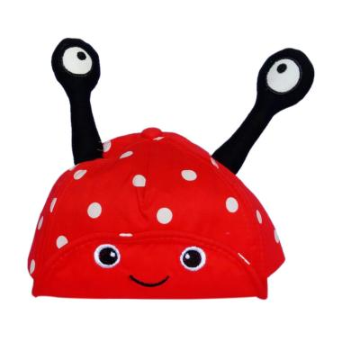 GBS Topi Anak Ladybug Topi Anak - Red