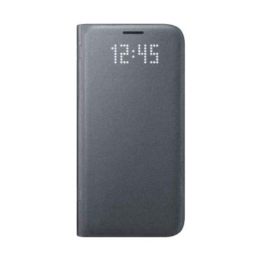 Samsung Original LED Wallet Casing for Galaxy S7 - Black
