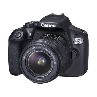 Canon EOS 1300D Kit 18-55 IS II WiFi Kamera DSLR