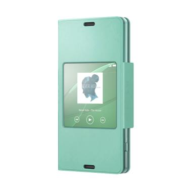 Sony Style Up Cover Casing for Xperia Z3 Compact SCR26 - Green