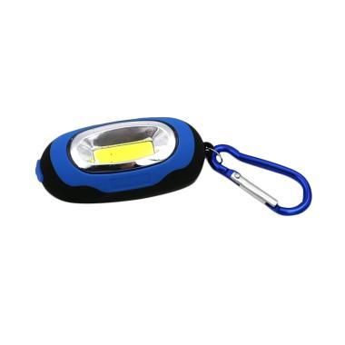 Universal Mini Senter LED with Karabiner - Blue [25 Lumens]