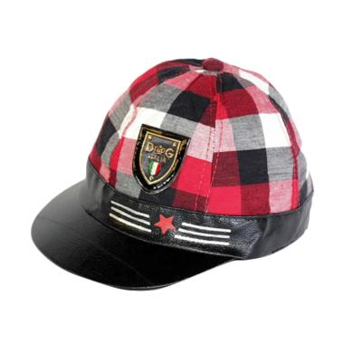Kids Option Fashion Topi Anak - Merah