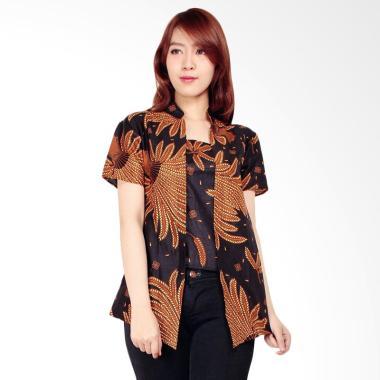 Miracle Online Shop Milla Blouse Atasan Abaya Batik