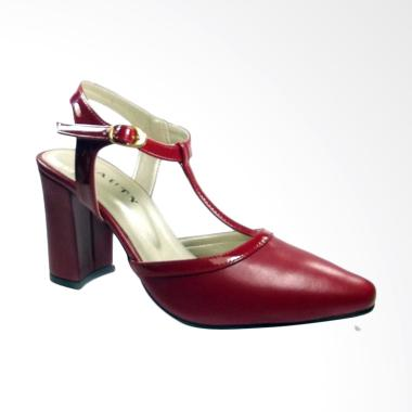 Beauty Shoes 1286 High Heels - Red