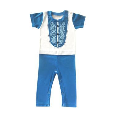 J Baby 215 Baju Terusan Koko Lengan Pendek [0-12 Bulan ]
