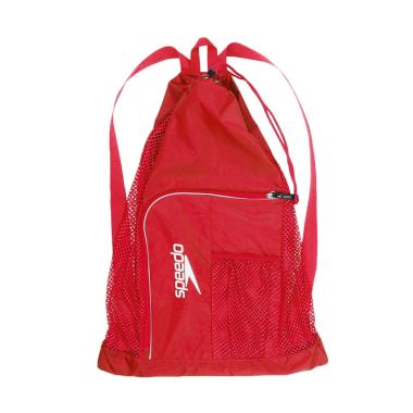 Speedo Mesh Bag Ventilator Tas Olahraga Air - Red