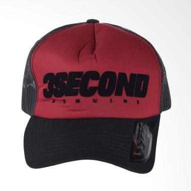3SECOND Hat 1608 Topi Pria - Red 116081718