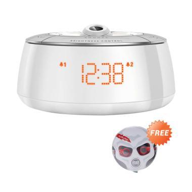 Philips Alarm Clock AJ 5030 FM Tune ...  504 Stereo Earphones Red