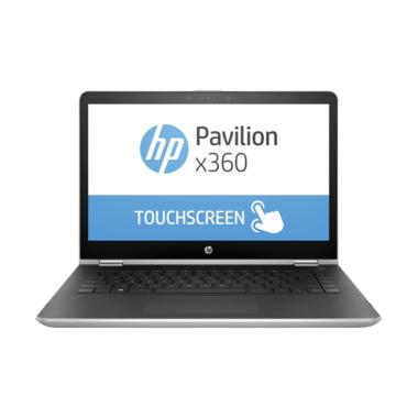 HP Pavilion X360 14-BA001TX Laptop - Natural Silver