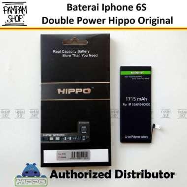 harga Baterai Hippo Double Power Original Apple Iphone 6S Batre Batrai Battery Dual Handphone HP Hipo Ori Blibli.com