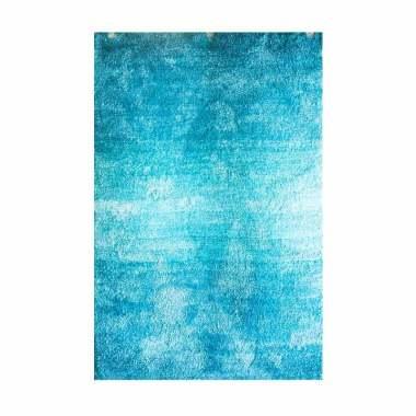 Vision CRY 16 Soft Shaggy Blading Karpet - Blue [110 x 160 cm]