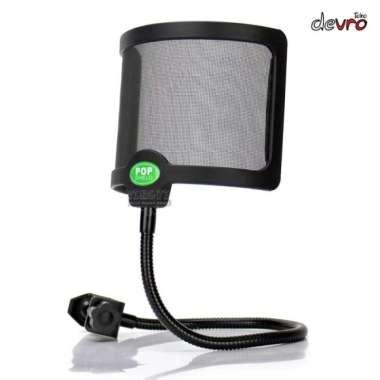 harga Premium Pop Filter Flexible Windshield Microphone Cover Berkualitas Blibli.com