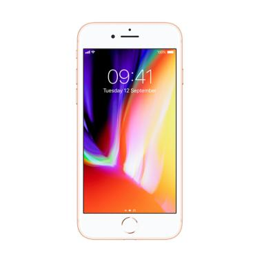 Apple iPhone 8 256 GB Smartphone - Gold [Garansi Resmi TAM]