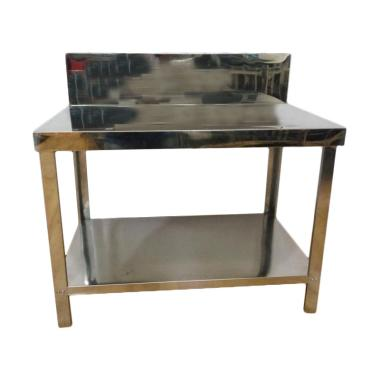 Metalco Mt 2 Stainless Steel Meja Dapur Rak