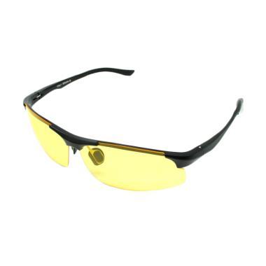 Mine Lensa Mercury Kacamata Sepeda - Black Yellow