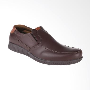 Yongki Komaladi Sepatu Pria - Coklat [NNS-521121]