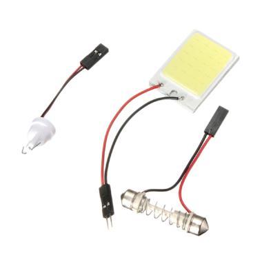 JMS COB 48 SMD Lampu LED Kabin or Plafon Mobil - White