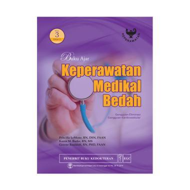 EGC Buku Ajar Keperawatan Medikal Bedah Vol. 3 Edisi 5 by Priscilla Lemone Buku Edukasi
