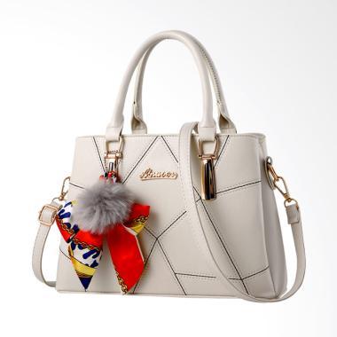 Toko49 Batam Import Fashion Tas Wanita - Putih 0f2ab92a41