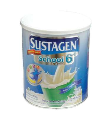 SUSTAGEN SCHOOL VANILLA CAN 800GR