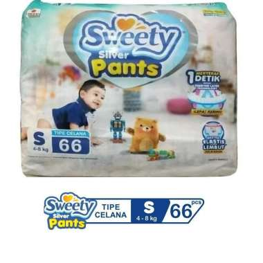 Sweety Silver Pants S66