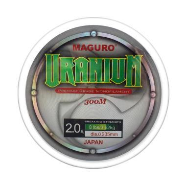 Maguro Uranium Line Monofilament Senar Pancing [0.23 mm]